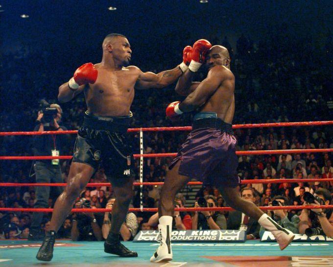 Kampf Mike Tyson