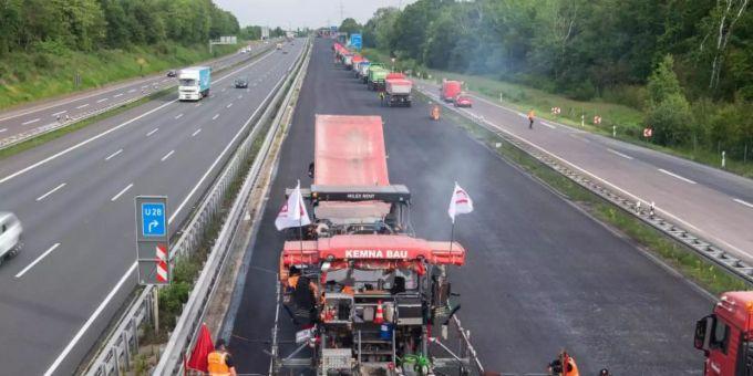 Autobahnbaustellen Hessen