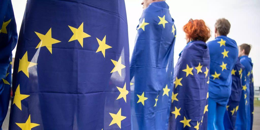 europawahlkampf in der schlussphase. Black Bedroom Furniture Sets. Home Design Ideas