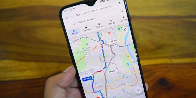 Google Maps vereinfacht Wegfindung mit AR