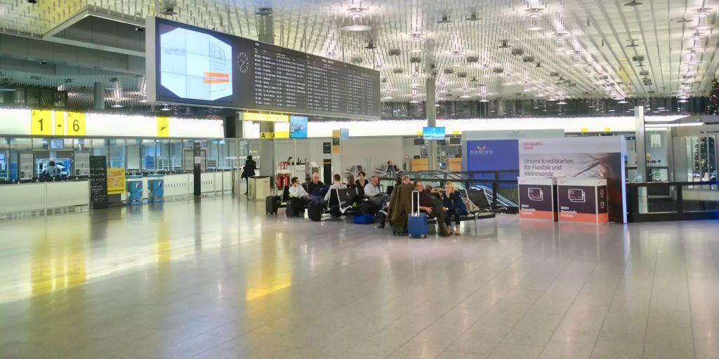 Hannover Flughafen Ankunft Heute