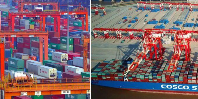 Migros betroffen - China schweigt folgenschweren Container-Stau aus