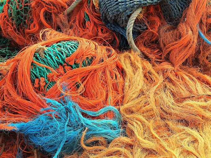 Fishing nets make up a large part of the plastic waste in the oceans - Pixabay