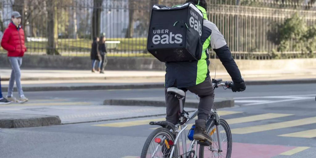 Uber Eats startet heute in Zürich