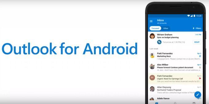Microsoft Outlook Mobile wird um neue Funktionen ergänzt