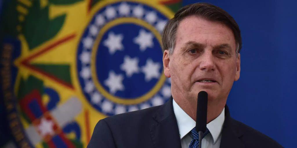 Brasilien Präsident Corona