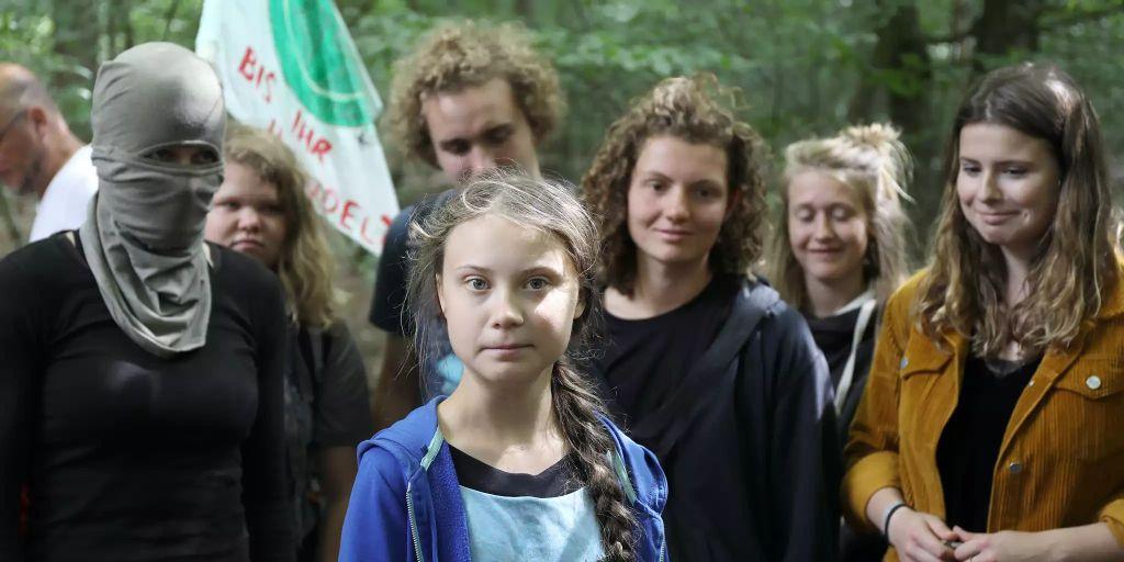 Greta Thunberg wird für Auftritt mit Vermummten kritisiert