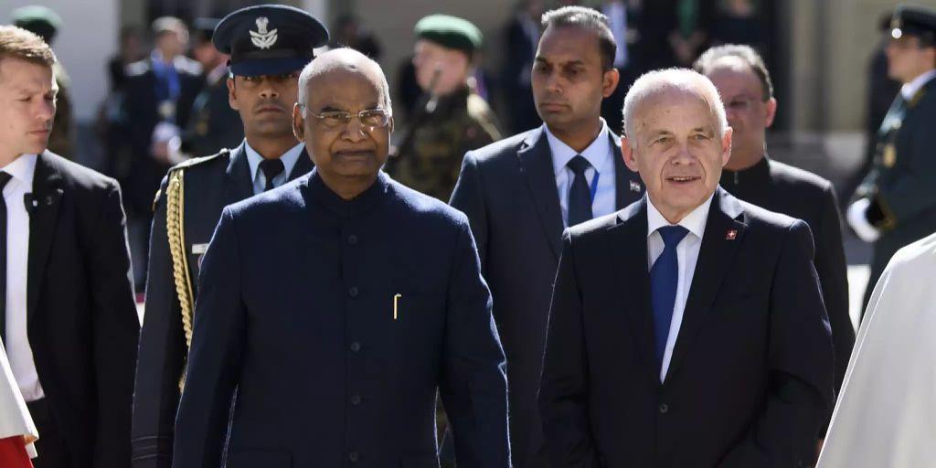 Indischer Präsident Ram Nath Kovind besucht die Schweiz
