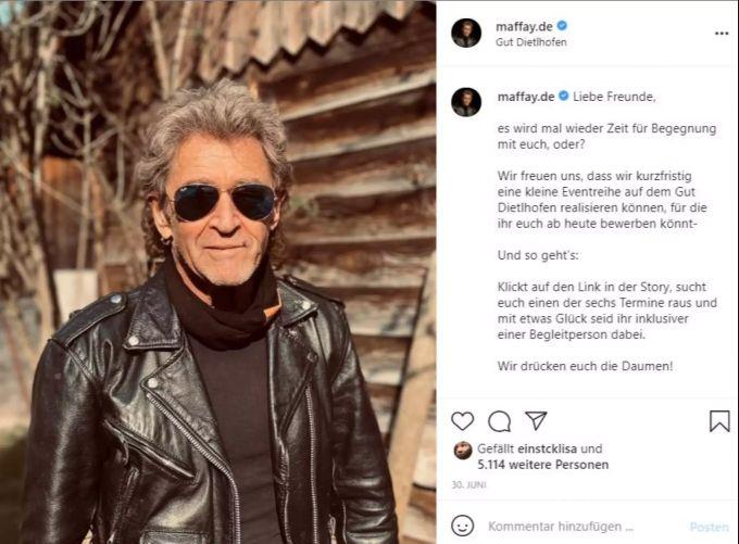 Peter maffay nackt