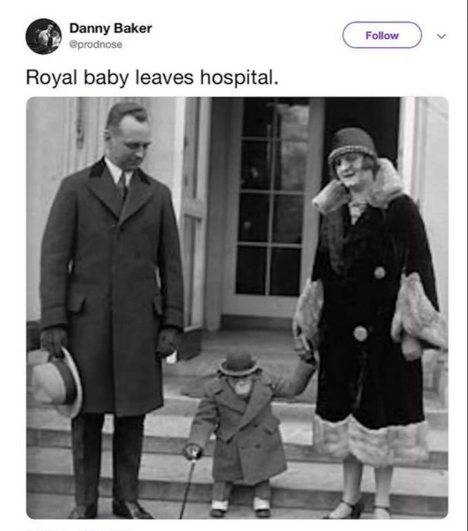Baby Sussex Wird Von BBC-Moderator Mit Affe Verglichen