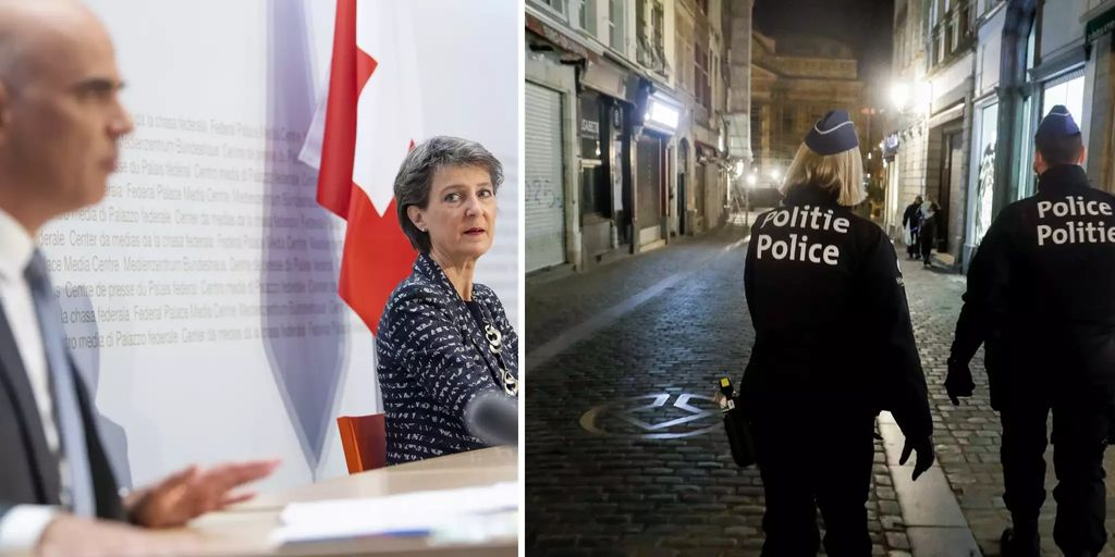 Schweiz Lockdown