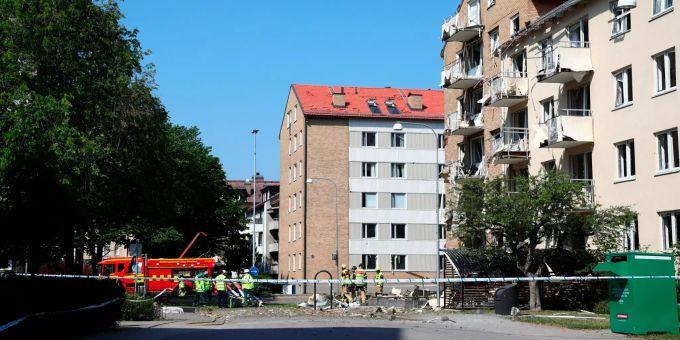 Explosion in Schweden
