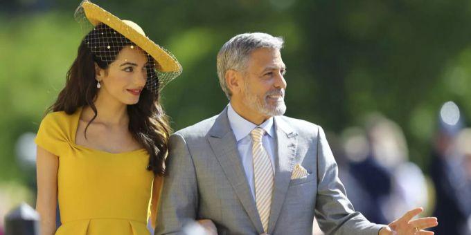Amal nackt Clooney Amal Clooney