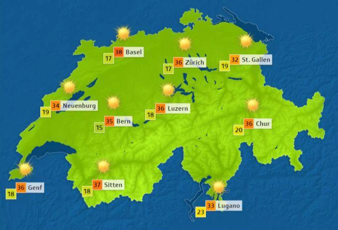 Wetter Heute Ist Der Letzte Heisse Tag Vor Der Abkühlung