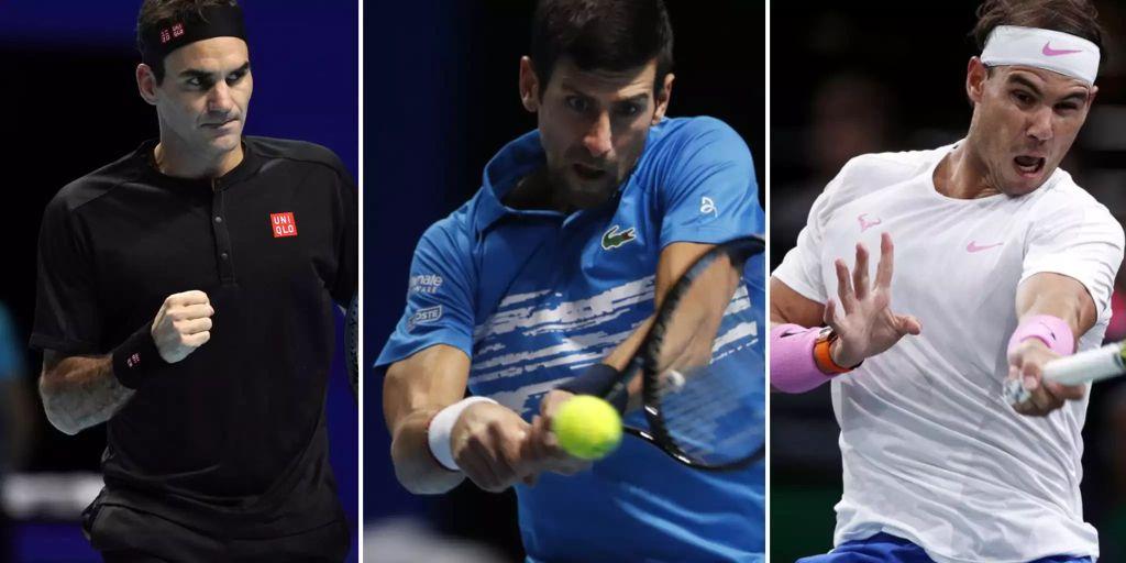 So entscheidet Roger Federer das Duell zwischen Nadal und Djokovic - Nau.ch