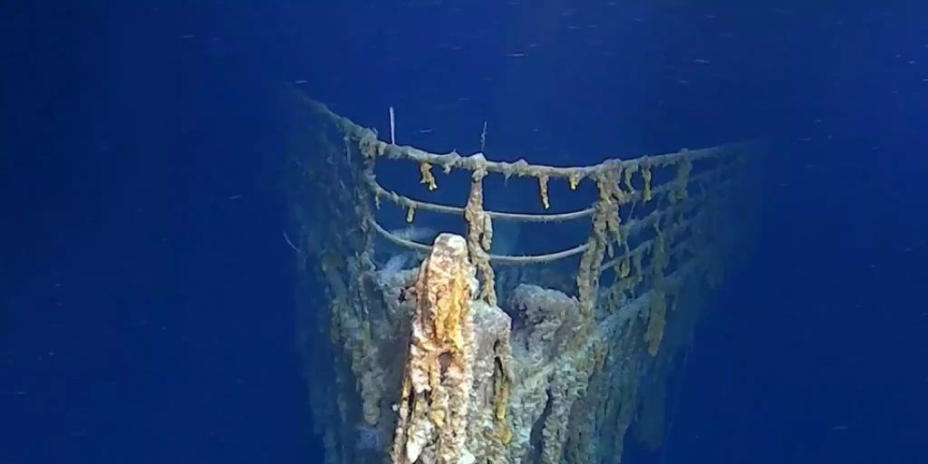 Titanic überreste