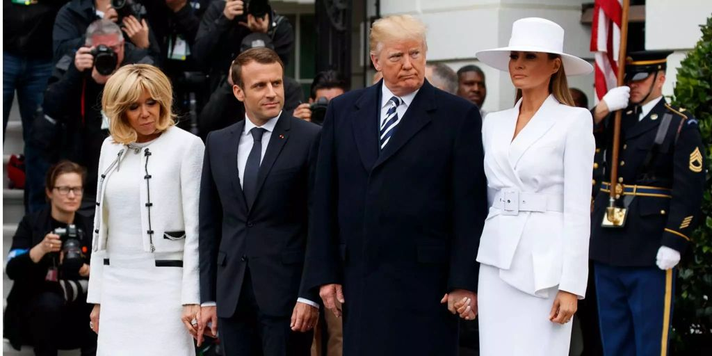Melania Trump will mit ihrem Donald einfach nicht Händchen