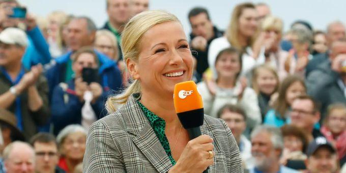 ZDF TV Garden Andrea Kiewel