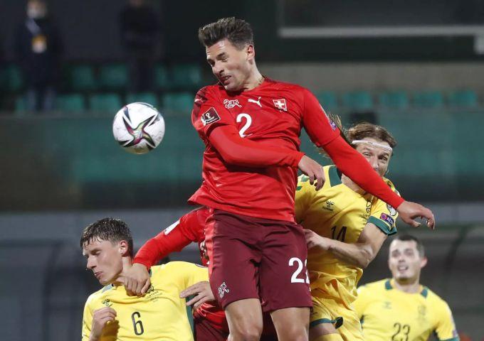 Fabian Scheer, nazionale svizzera di calcio