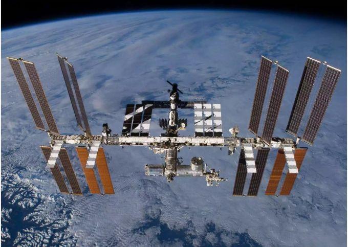ISS Spaceshuttle Nasa Raumfahrt
