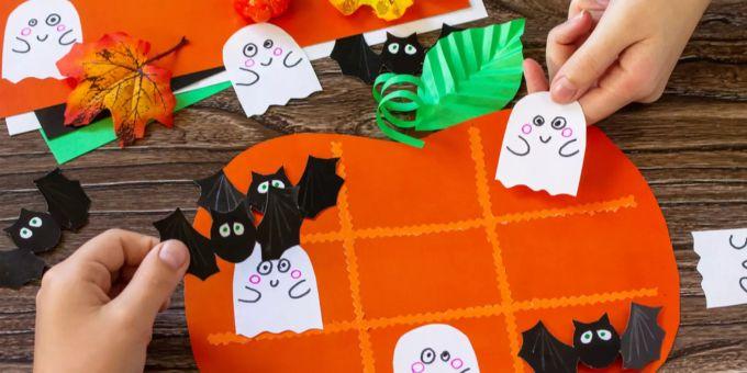Halloween Deko Basteln Die Schonsten Ideen Fur Kinder