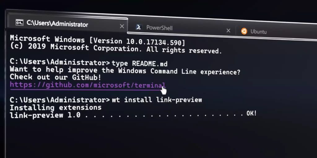 Microsoft Build: Windows 10 erhält mit Terminal neue Konsole