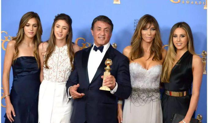 Töchter Sylvester Stallone
