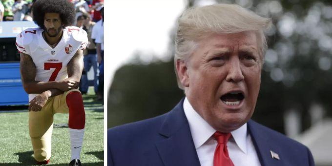 Donald Trump würde Rückkehr von Colin Kaepernick in NFL