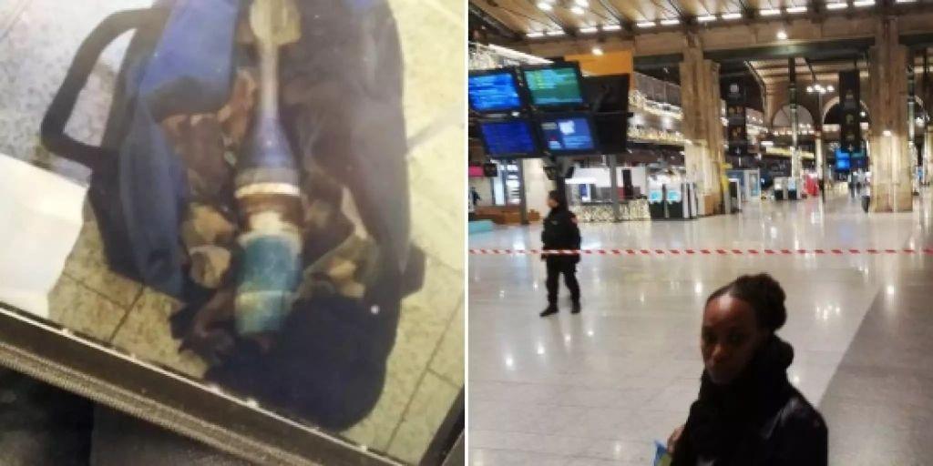 Pariser Bahnhof wegen Granate im Gepäck evakuiert