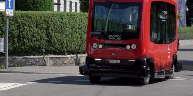 Bald fährt auch in Bern ein autonomer Klein-Bus herum