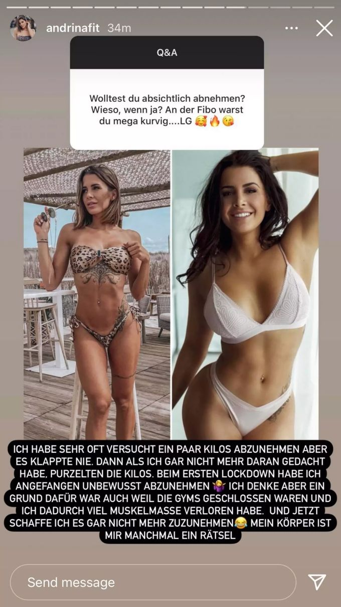 Nackt andrina santoro Fitness Model
