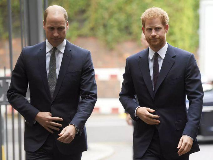 Il principe Harry Il principe William