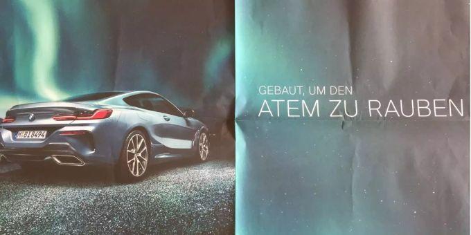 Bmw Erntet Shitstorm Für Sportwagen Werbung