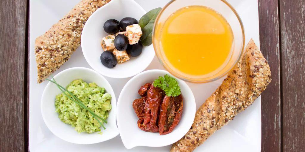 Nahrhaftes Frühstück zur Gewichtsreduktion und