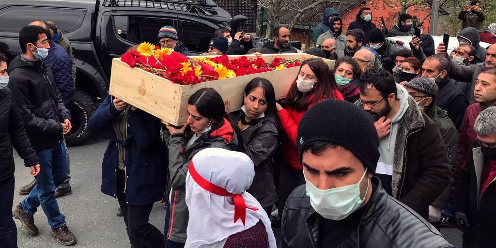 Türkische Beerdigung