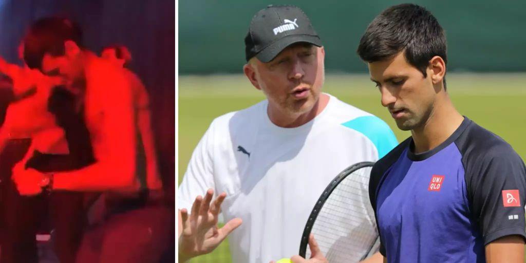 Tennis nippelblitzer Uncensored Celebrity