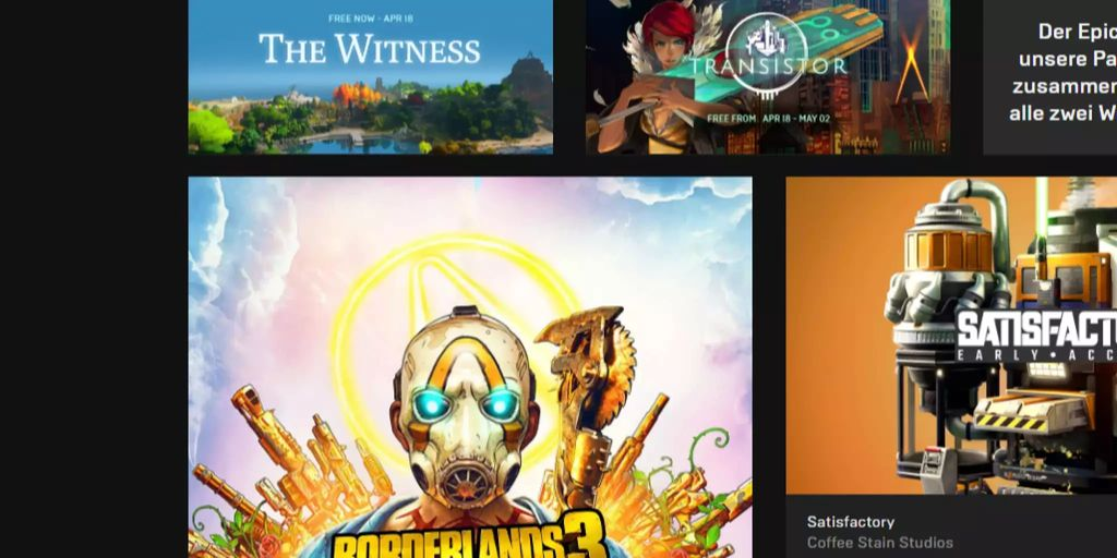 Darum ist der Epic Games Store so unbeliebt