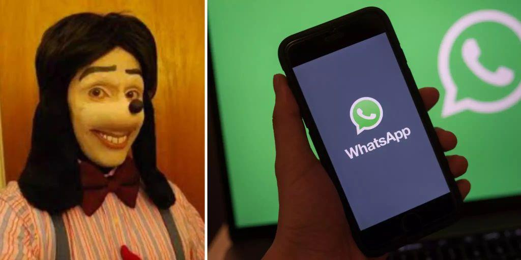 Horror Goofy Whatsapp
