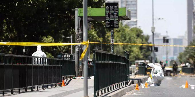 Bei Explosion In Santiago De Chile Verletzen Sich Fünf Personen