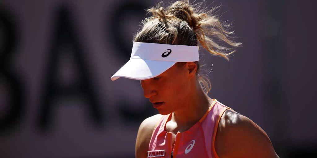 Viktorija Golubic unterliegt an den French Open Anett ...