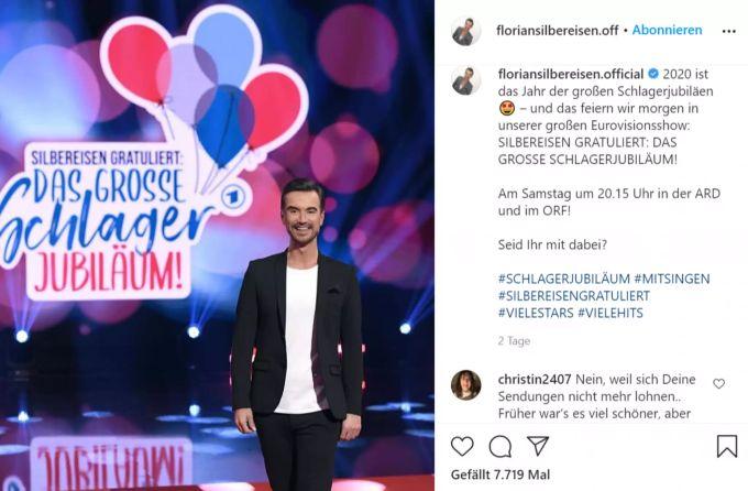Hat es zwischen Beatrice Egli und Florian Silbereisen ...