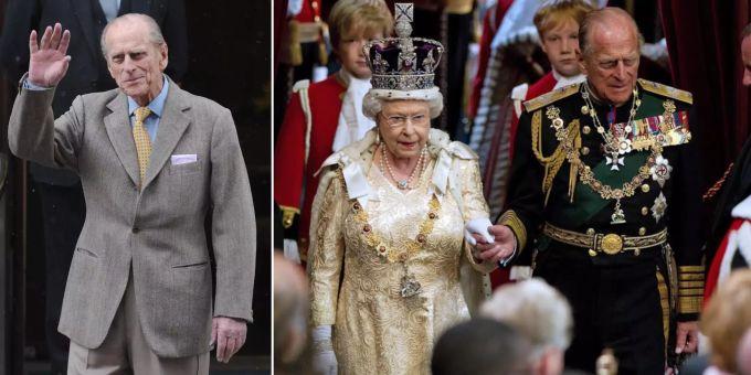 La regina Elisabetta brucia Filippo