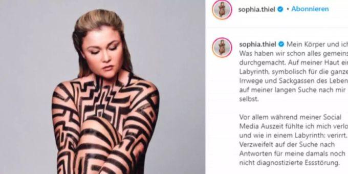 Nackt sophia tiehl Sophia Thiel