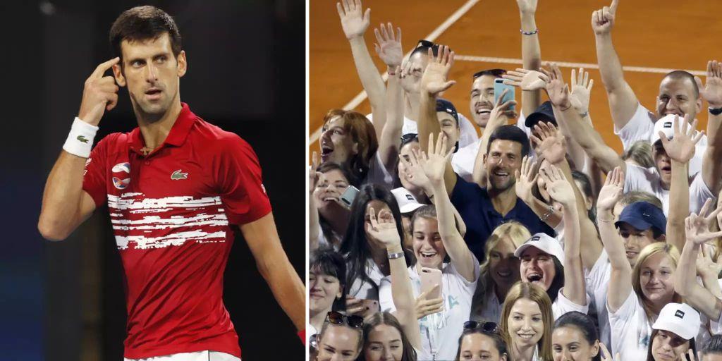 Djokovic Corona