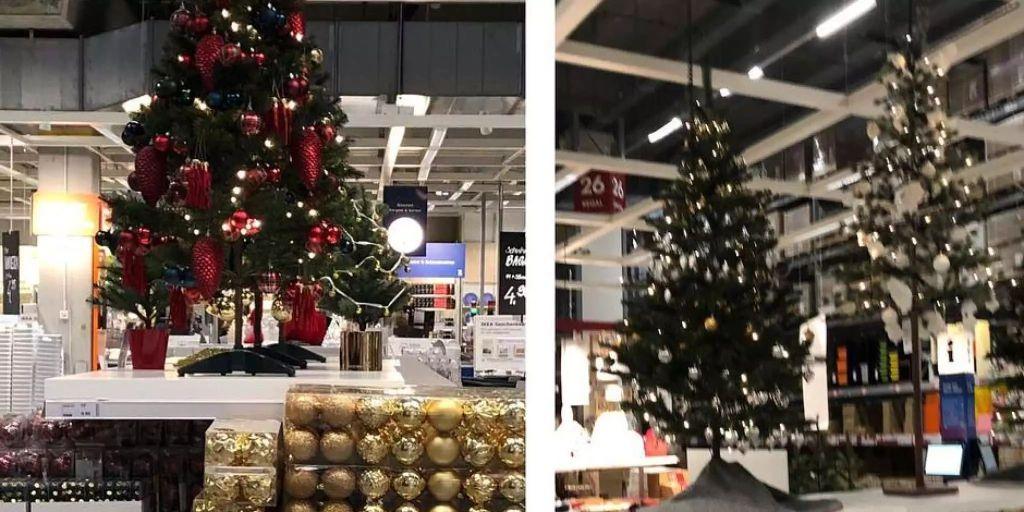 ikea feiert schon weihnachten und coop schiebt. Black Bedroom Furniture Sets. Home Design Ideas