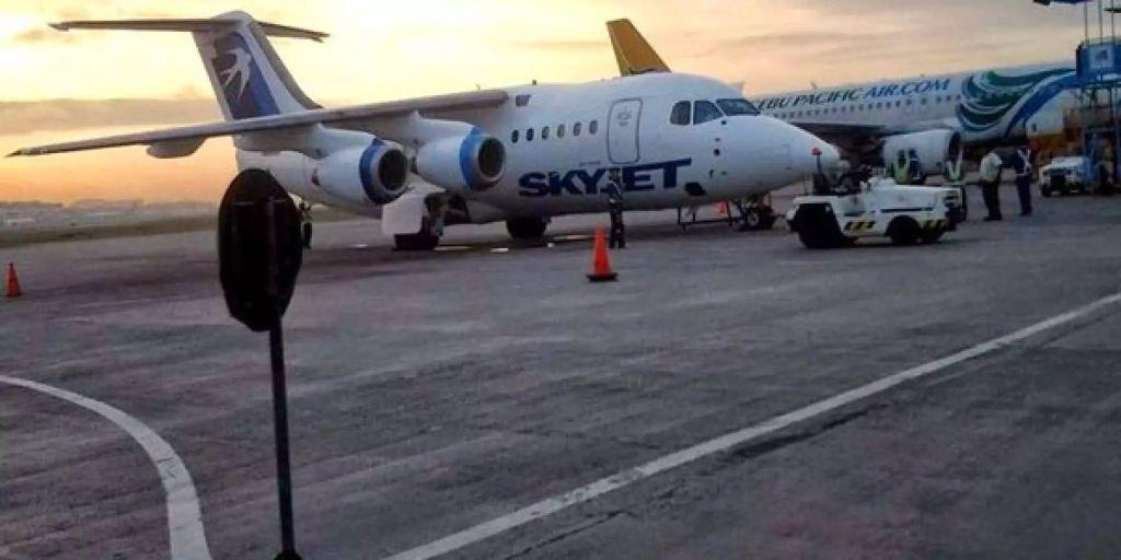 Flugzeug Zusammenprall