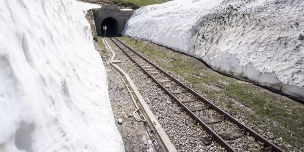 Dampfbahn Furka-Bergstrecke steht kurz vor Saisoneröffnung