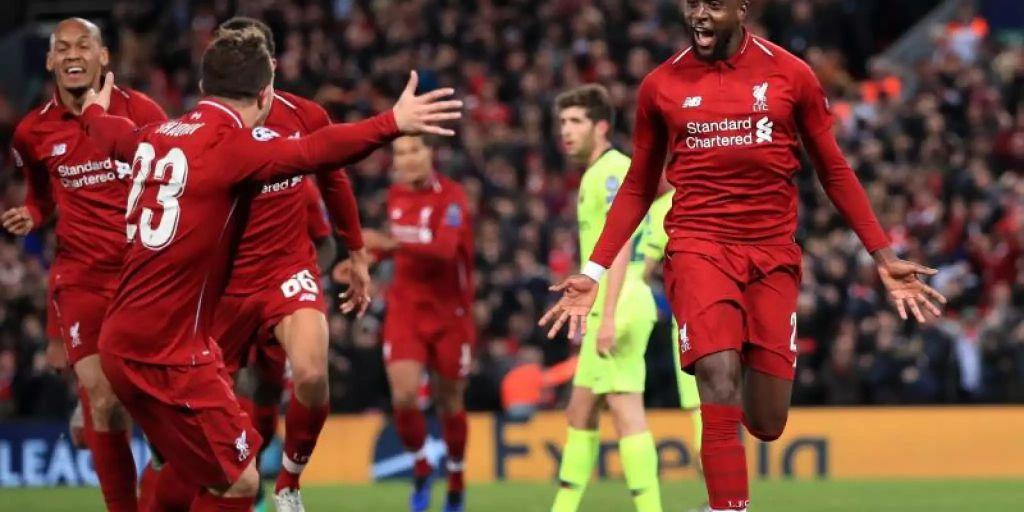 Barcelona Gegen Liverpool