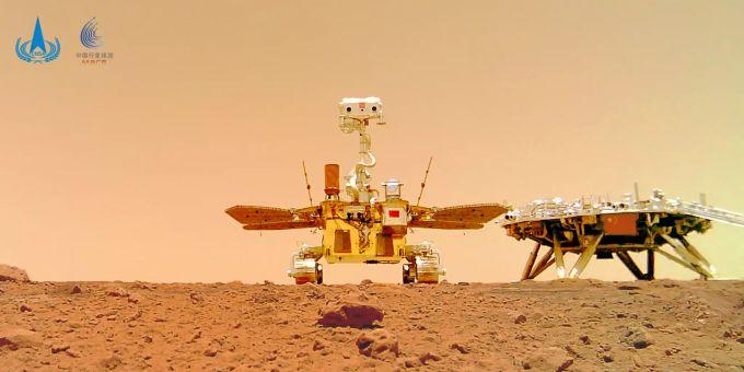 Mars zhurong