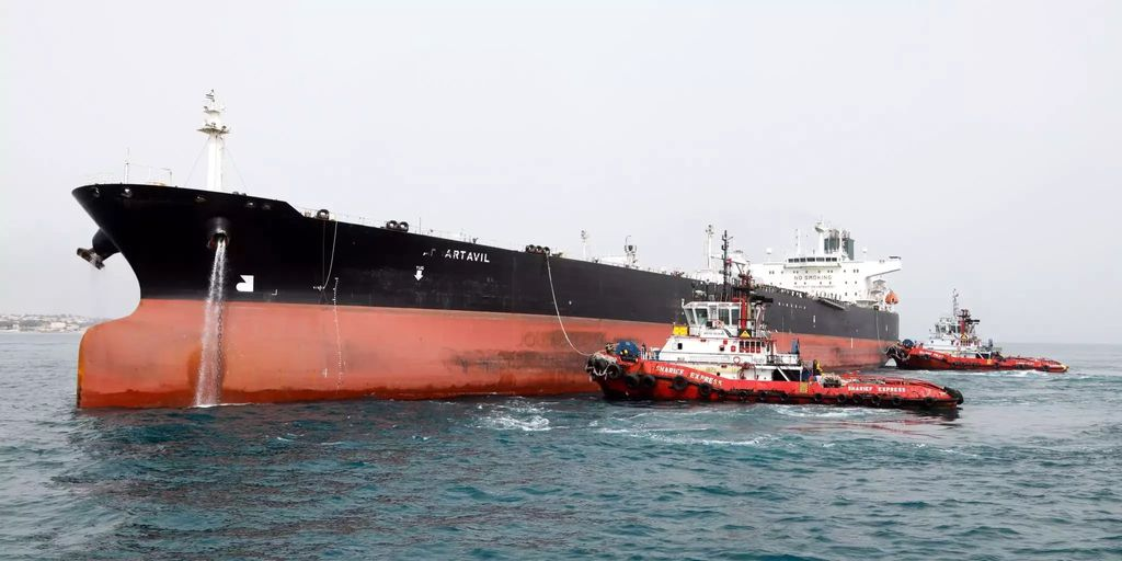 Iranische Tanker verschwinden wegen neuer US Sanktionen ...